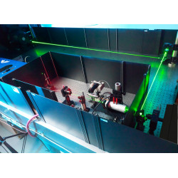 Laser protection for optical tables