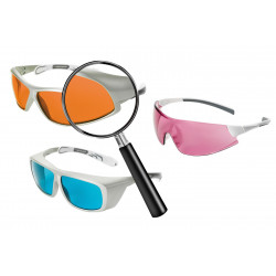 Quick Finder for Laser Safety Goggles
