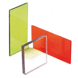 Laser safety window, 765-1400 nm, acrylic