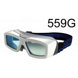 Laser safety goggle 190-300 nm, 685-1350 nm, Glass Filter