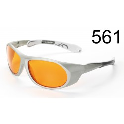 Laser adjustment goggle, 500-530 nm up to 100 mW