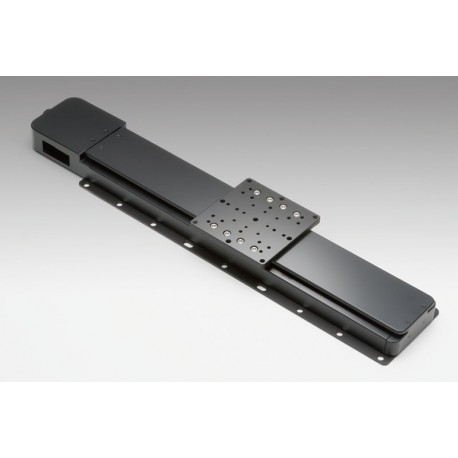 X-Achse, X: 200mm, Delta: 3µm, v: 40mm/s, F: 117N