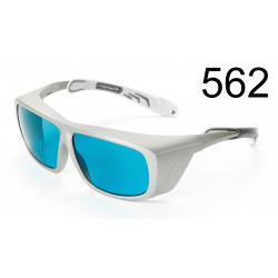 Laser adjustment goggle, 457-542 nm up to 10 W