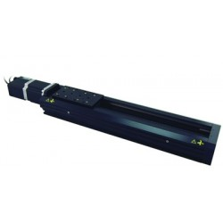 X-Achse, X: 750mm, Delta: 2.5µm, v: 420mm/s, F: 80N