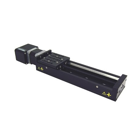 X-Achse, X: 150mm, Delta: 2.5µm, v: 280mm/s, F: 80N