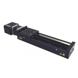 X-Achse, X: 300mm, Delta: 2.5µm, v: 280mm/s, F: 80N