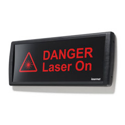 LED-Laserwarnleuchte Riesig