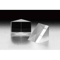 Right Angle Prism, A: 25.4 mm, Uncoated Hypotenuse, AR-Catheti, LIDT: 4 J/cm², BK7