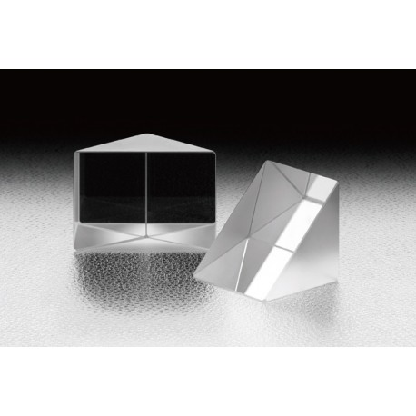 Right Angle Prism, A: 30 mm, Metal Hypotenuse, Uncoated Catheti, LIDT: 0.25 J/cm², BK7