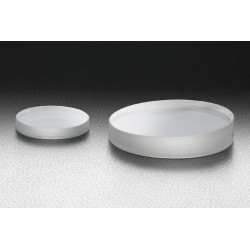 Synthetic fused silica, D: Ø25.4mm, t: 5 mm, S-D: 10-5, Uncoated, Lambda/10, Low scattering