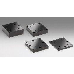 Aluminium Spacer, 60x60 mm, t: 10 mm, Mounting surface pattern A