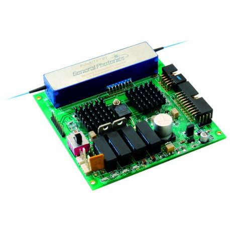Dynamic Polarization Controller with Miniature Piezo Driver Card