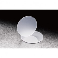 Ground Glass Diffuser, D: Ø50 mm, SiO2, Sand number: 800