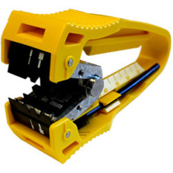 Fiber Optic-Center Feed Stripper