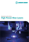 High Power Blue Lasers